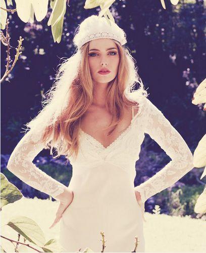 【新娘发型】波西米亚风格新娘造型图片