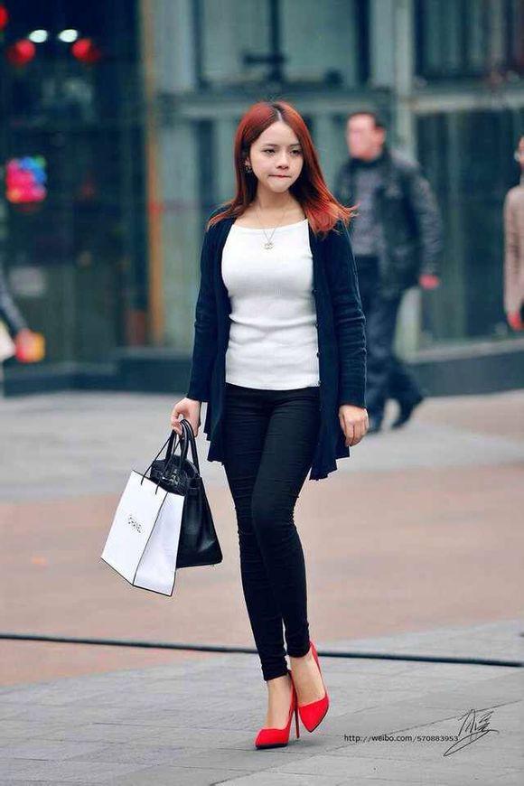 重庆街拍2015 重庆美女 海街拍 街拍网图片