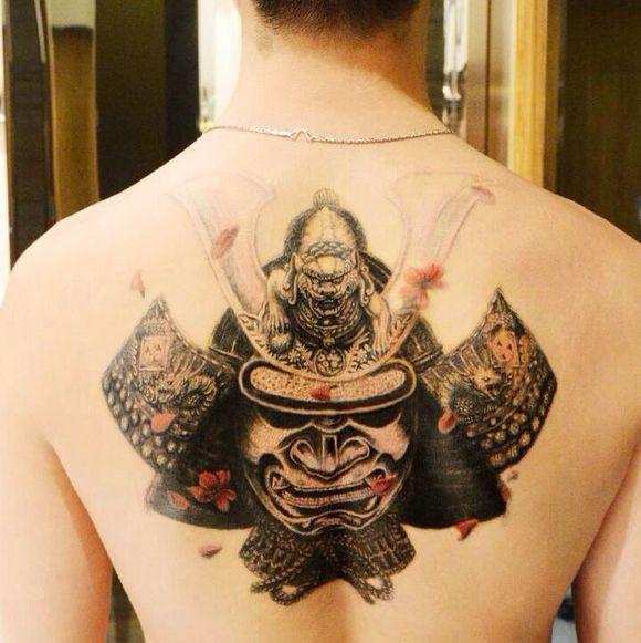 男人纹身霸气图片图片