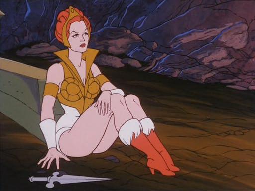 九十年代动画片美女