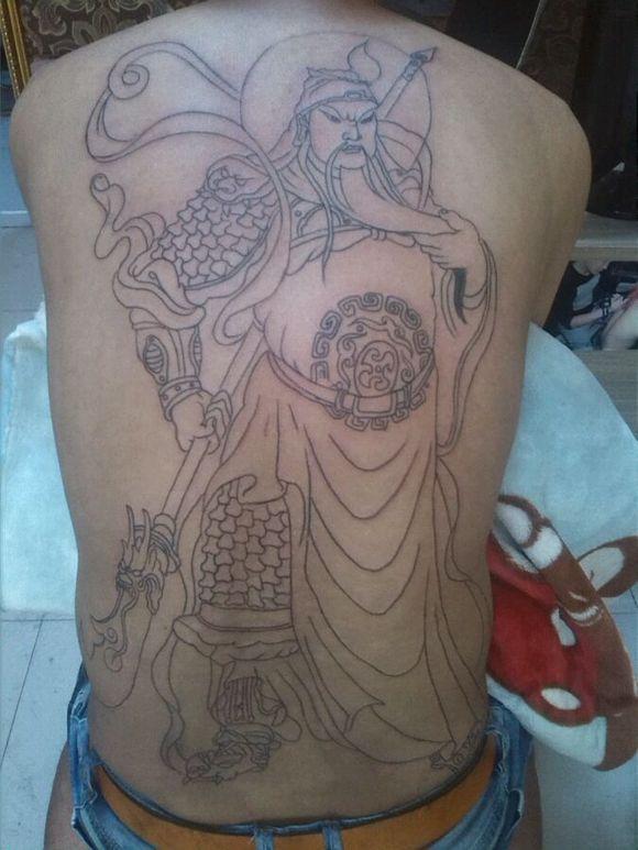 关公纹身477987735图片