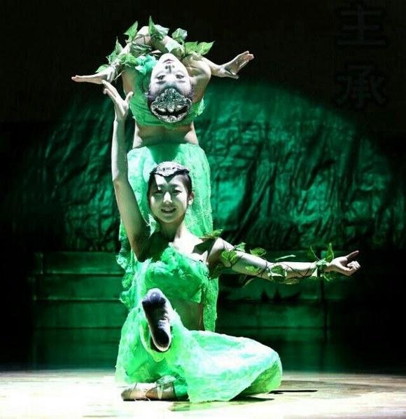 傣族双人舞《藤枝叶》