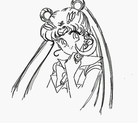 【图文】美少女战士绘画教程