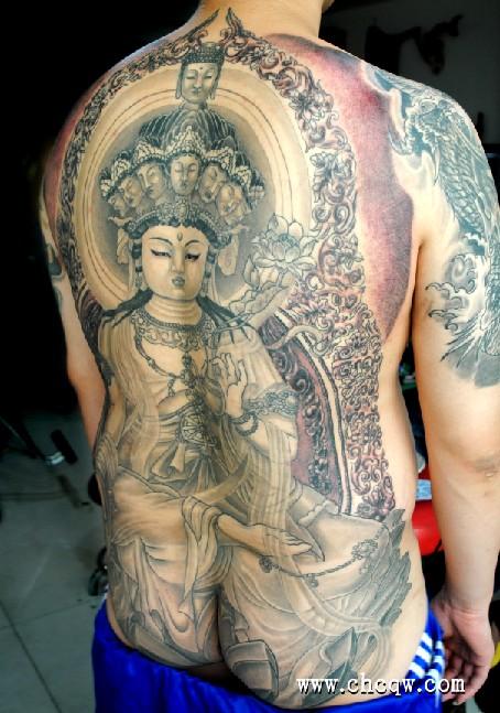地藏王菩萨 地藏王菩萨纹身 地藏王菩萨超度心咒高清图片
