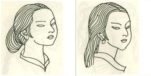 秦代少妇发型 汉王朝的政治进步图片