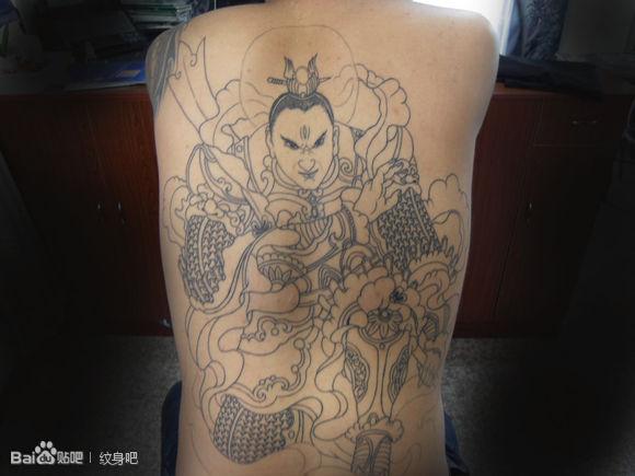 多多支持了_纹身吧图片