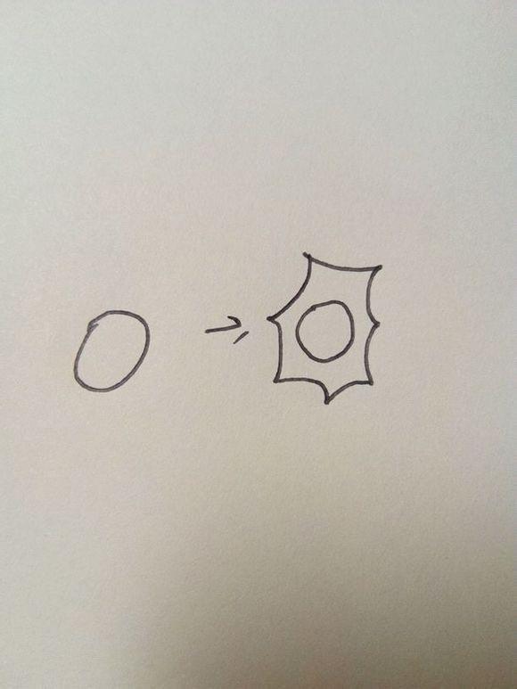 你画一些简单的花边简笔画 MS