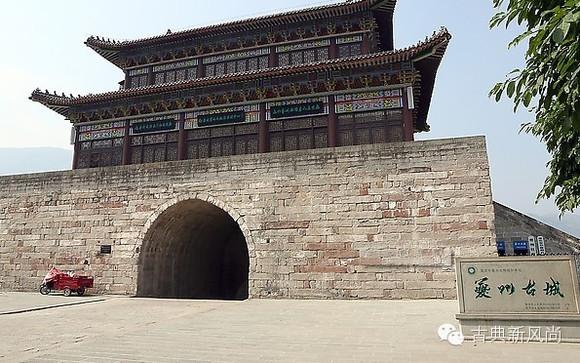 ]中国古代33座宫殿城墙今日现状图片
