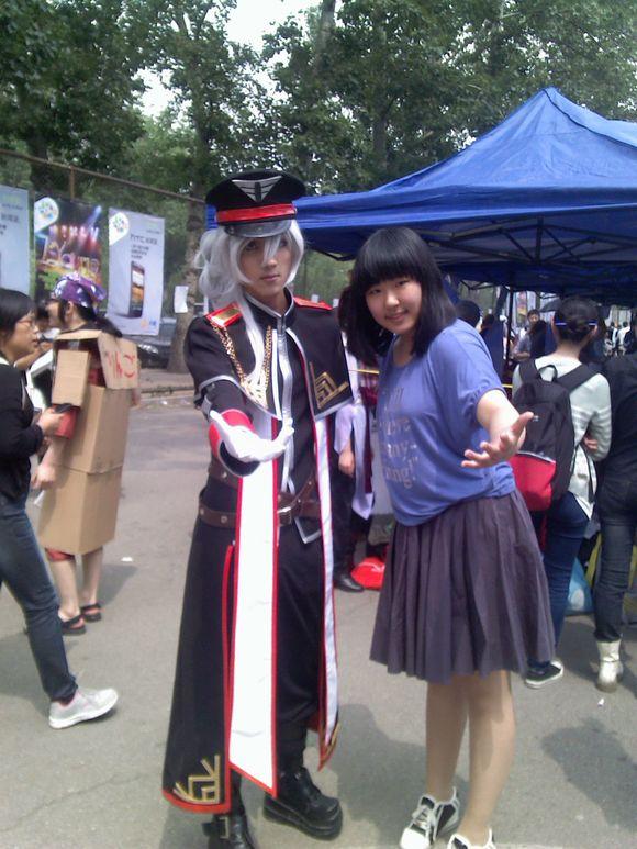 话说今天在北京人民大学的cos展上 cosplay吧 百度贴吧 高清图片