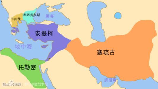 继业者战争是对亚历山大大帝死后的帝国遗产进行图片