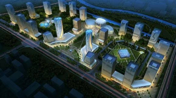 沭阳南部新城规划图 官方