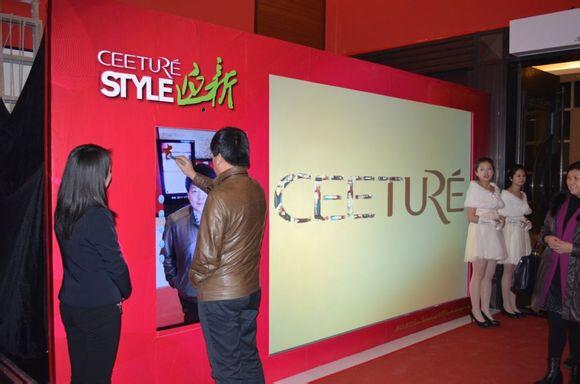 我们不提供),来宾来时候可以站立在设备前拍照签字保存即可完成签到图片