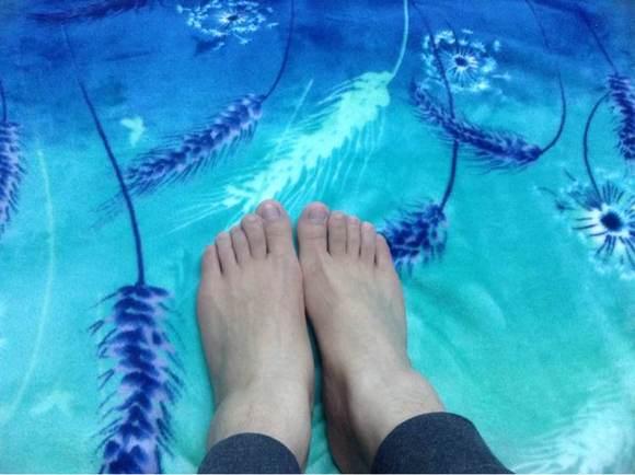 女朋友天天说我的脚丑