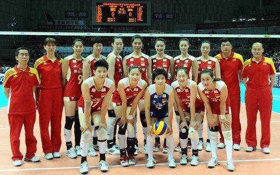 中国排协古月2012年7月8日下午,中国女排队委会和排球中心主高清图片