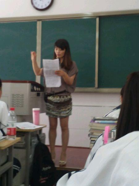 一中我的美女老师 榆林市第一中学吧