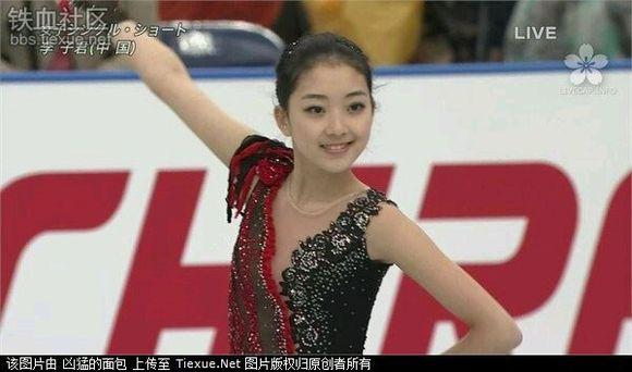 索契冬奥会的中国花样滑冰美女~小日本看了都忍不住