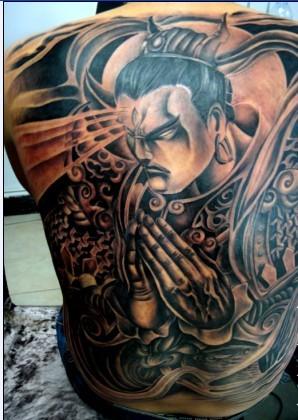 二郎神纹身图案大全 孙悟空纹身图片 赵子龙纹身图案 赵子龙纹身图案