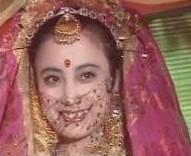kc这个形象真像印度美女啊
