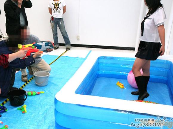 日本工口游戏宣传展示区提供「湿衣」体验