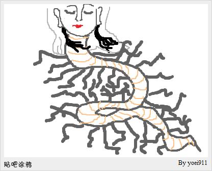 有没有千手观音的纹身手稿 (416x335)-后背纹身龙图片