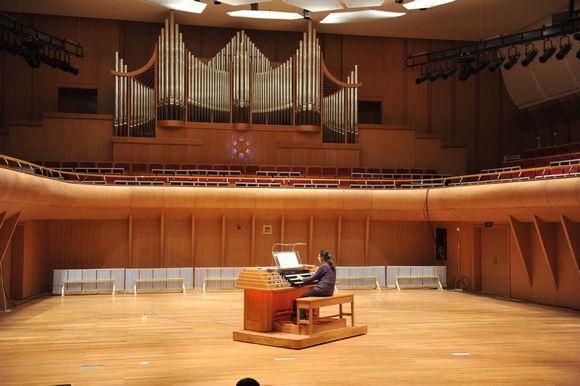 心音乐厅管风琴图片