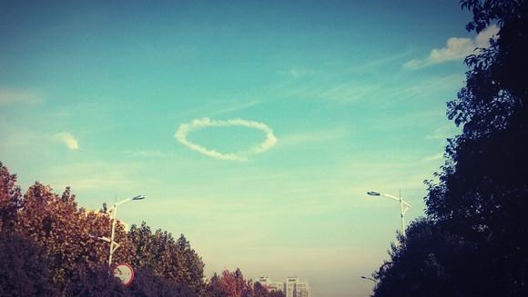 东阿的心形云图片