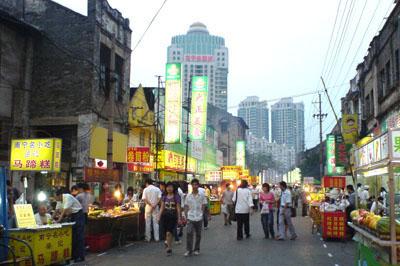 广东中山市有小吃一条街这样的地方么?图片