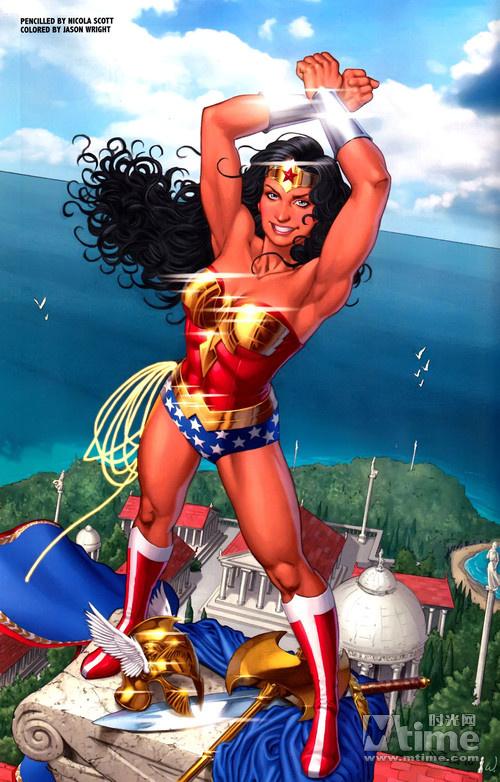 作为最强的女超级英雄