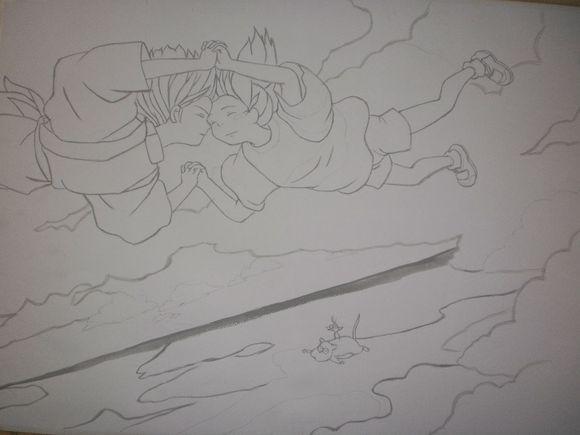 我现有的十二张宫崎骏动画临摹作品~~~~~~~【汇总】图片