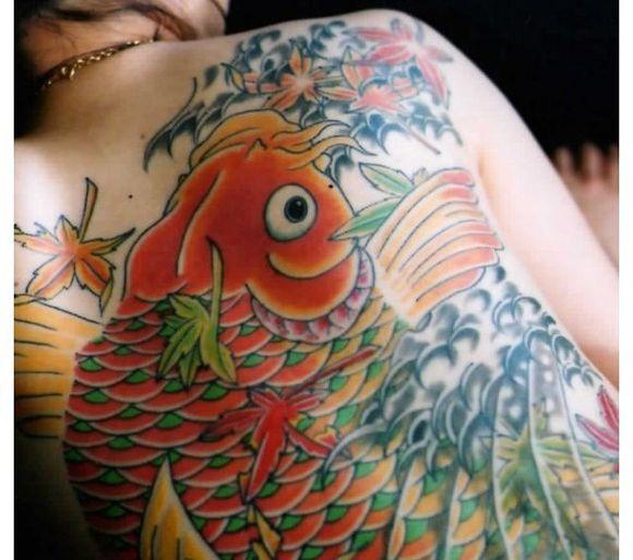 般若,艺妓,浮世绘_纹身图片