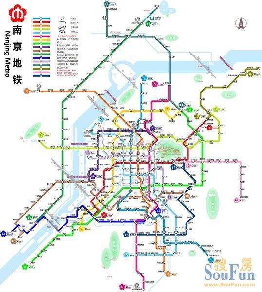 江苏地铁 城市吧