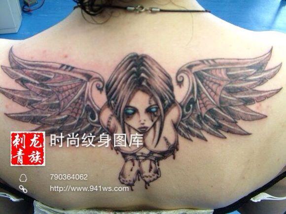 人物纹身图案含义是什么?学习纹身常识图片