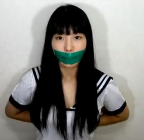 韩国美女 封嘴