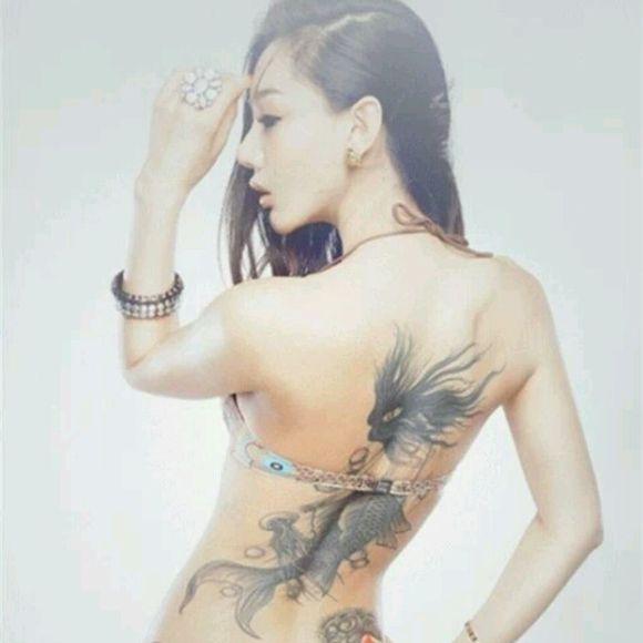 纹身美女! 内涵吧