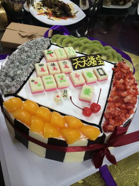 有创意的生日蛋糕图片