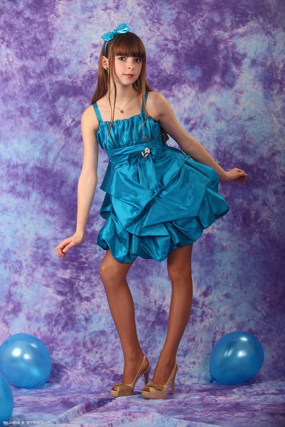 【Silver-Stars】Eva Bluedress-1_candydoll吧_百度贴吧