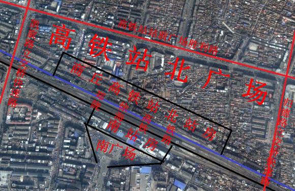 商丘高铁站规划图