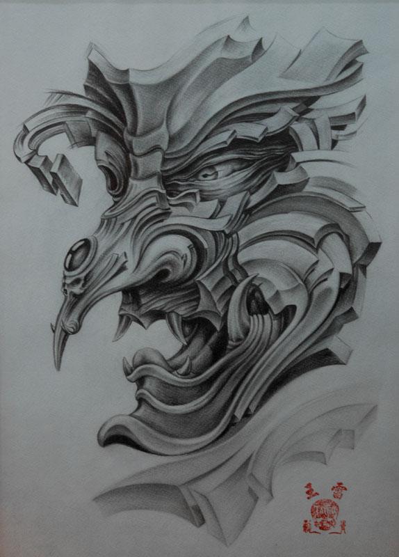 【纹身手稿】经典参考素材图片