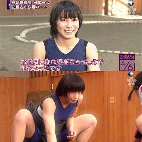 日本女子相扑手美貌惊人爆红:不肥不壮甜美还单身!