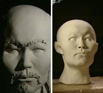 回复:中国十大千年古尸复原容颜图片