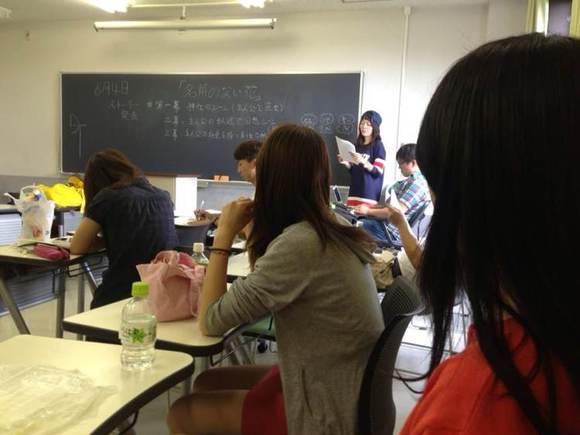 欢迎帅哥美女们报考神田外语大学