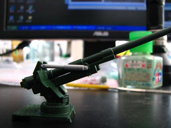 一定要可动!自制液压杆图片