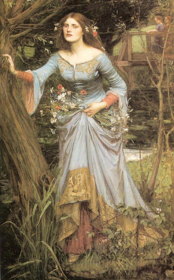 娅)奥菲莉娅是莎士比亚创作的著名悲剧《哈姆雷特》中的女主角,