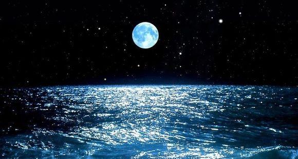 月·海·星空