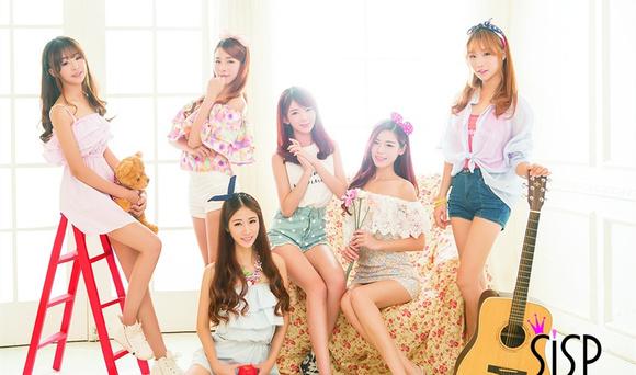 中国新生代清新美女组合sisp首支单曲《bling图片