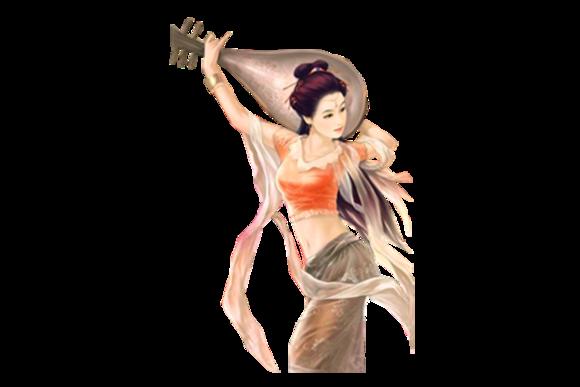 【其它】橙光游戏古风美女美男素材