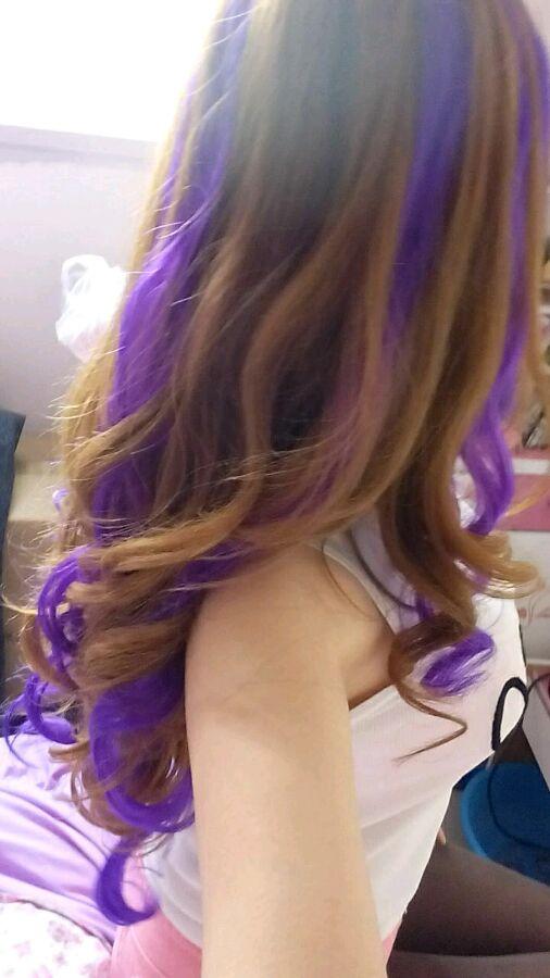 我头发染这个颜色怎么样图片