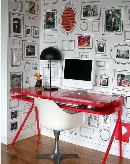 相片墙摆放设计图集锦 设计家吧 百度贴吧 高清图片