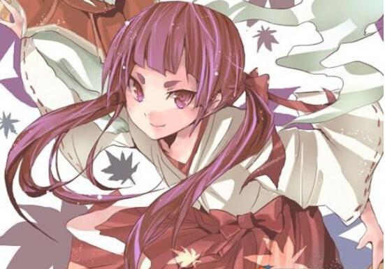 【盘点】二次元的紫发美女