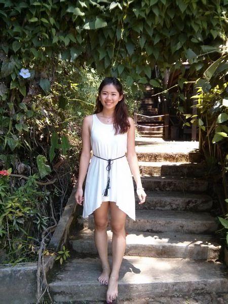 华裔美女马来西亚kuchingite赤脚游 竖